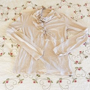Long sleeve Cabi blouse - size L